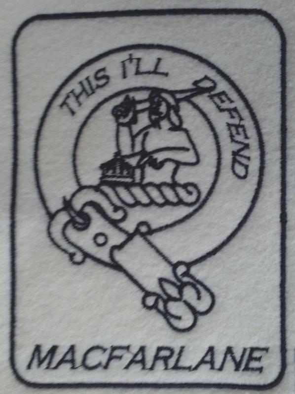 Scottish Clan Patches Mac